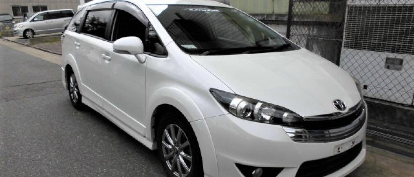 2012 Toyota Wish Aero Limited