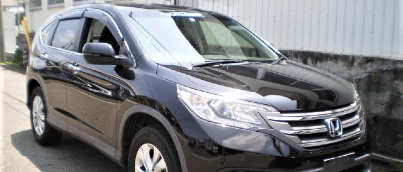 2014 HONDA CRV BLACK